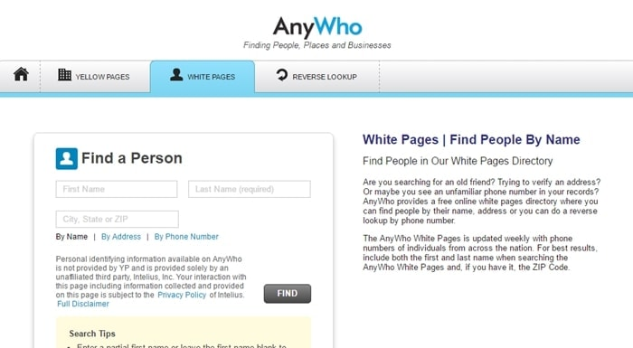 anywho.com