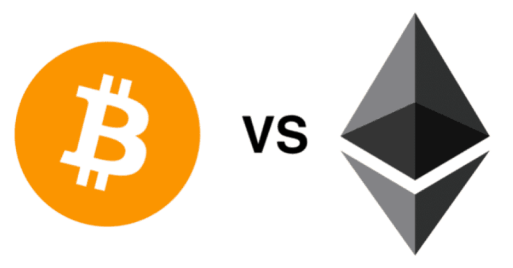 bitcoin vs ethereum