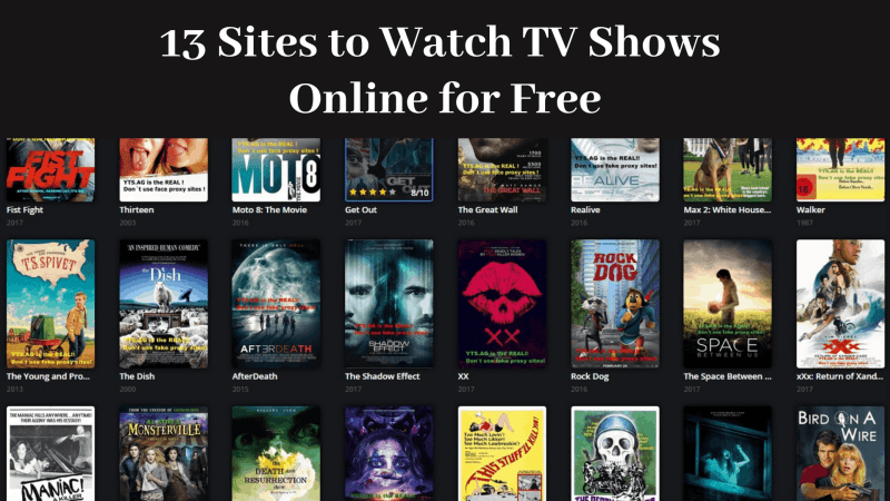 13 Best Sites to Watch TV Shows & Series Free (Full Online Episodes 2019)