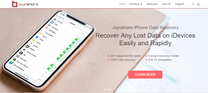 Joyoshare IPhone Data Recovery Review