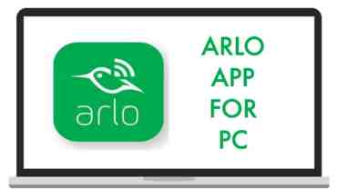arlo app for pc