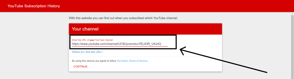 how to see when you subscribed to someone on youtube