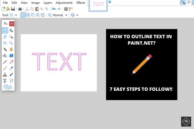 How To *Outline Text* In Paint.net? 7 Easy Steps To Follow