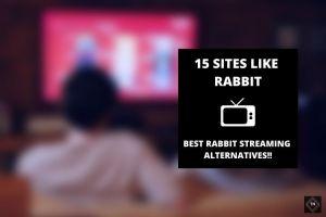 Sites Like Rabbit | 15 Best Rabbit Streaming Alternatives