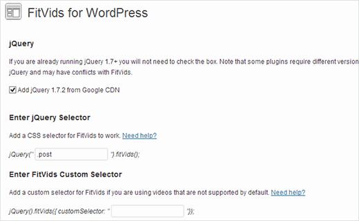 Make Videos Responsive in WordPress 2