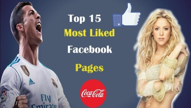 Top Most Liked Facebook Pages Of 2018 2