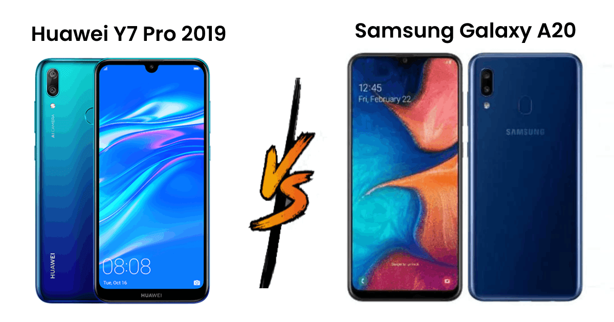 Huawei Y7 Pro 2019 vs Samsung Galaxy A20 | Which one is Better? 1