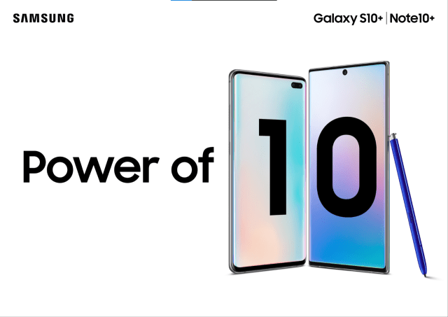 Samsung Galaxy S10/ S10+ and Note 10/10+