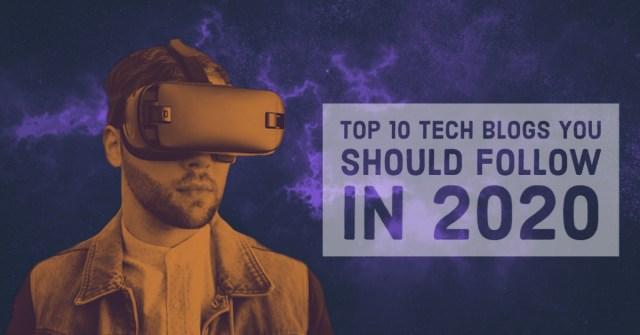 Top 10 tech blogs