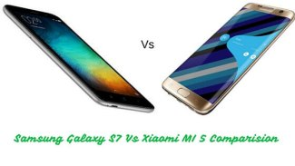 Samsung Galaxy S7 Vs Xiaomi MI 5 Comparison