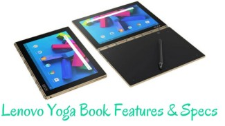 Lenovo Launched Lenovo Yoga Book ( Android )