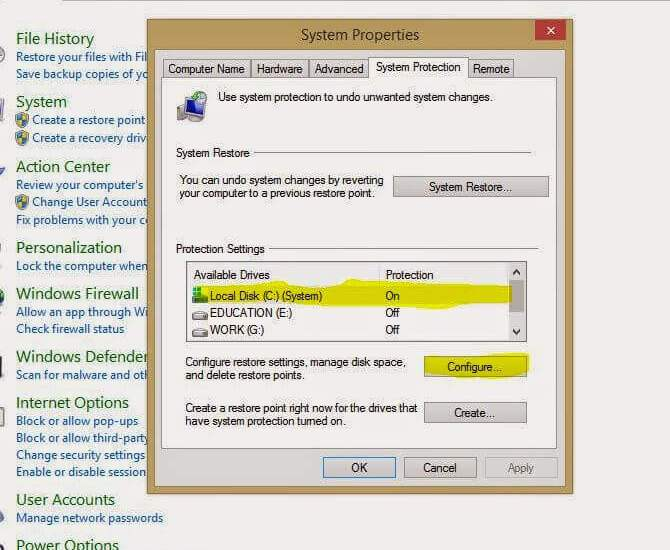 HDD partition in windows