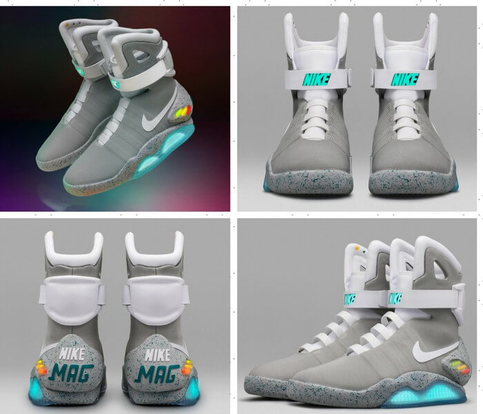 89f456bf550b Nike MAG  self lacing shoes – The next generation shoe technology ...