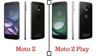 Moto Z and Moto Z Play Launched along with Moto Mods