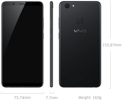 Vivo V7 Plus with 24 MP Selfie Camera Launched in India For Rs 21,990