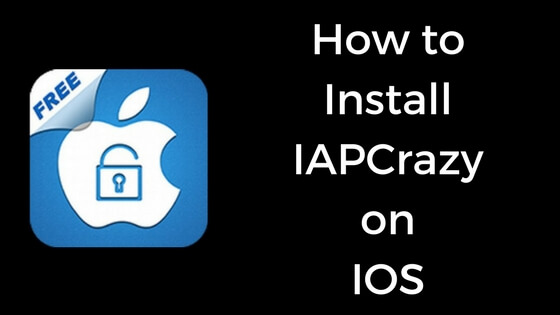 How to Install IAPCrazy on IOS devices