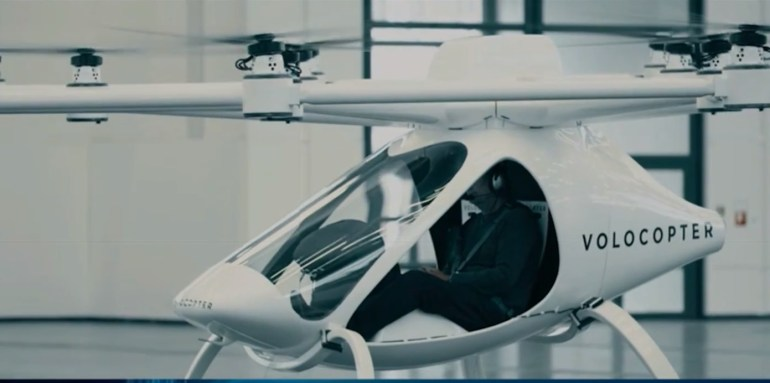 Volocopter Intel CES 2018