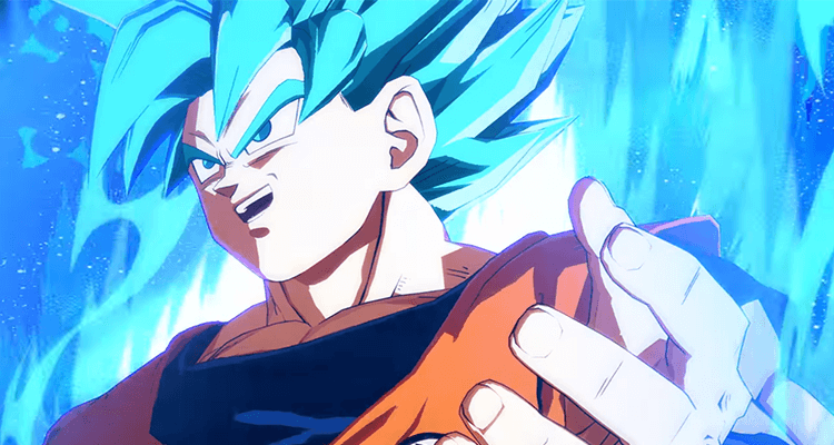 SSGSS Goku Dragon Ball FighterZ