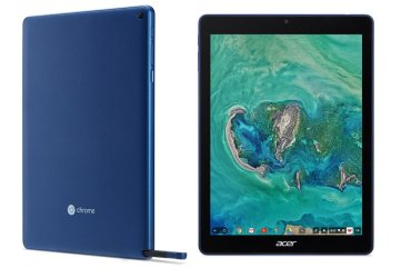 Acer announced first ever Chrome OS tablet