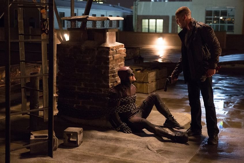 Daredevil faces The Punisher