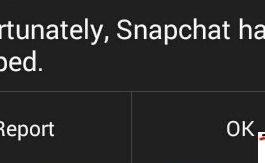 Snapchat Crashing