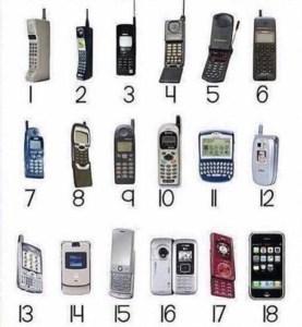 170818 Mobile Phone Evolution
