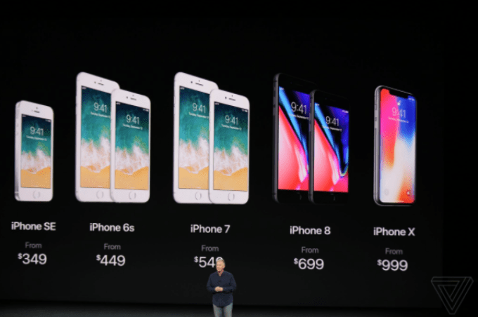 170912 iPhone X Lineup