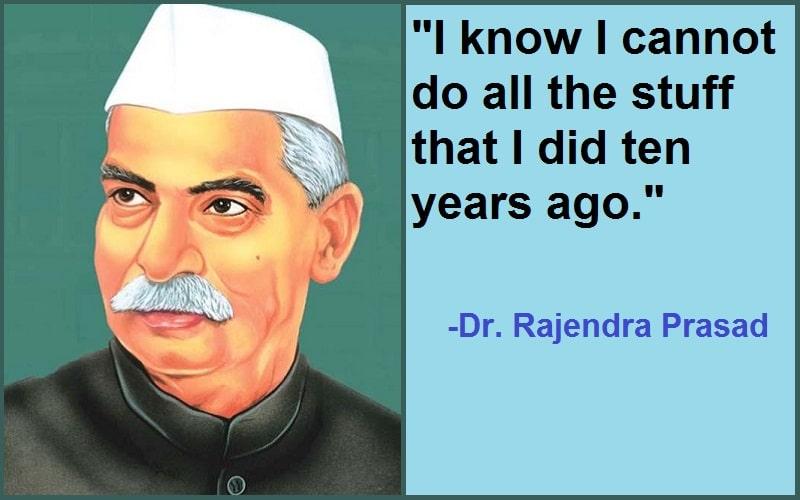 Dr. Rajendra Prasad Quotes