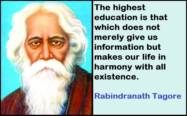 Inspirational Rabindranath Tagore Quotes