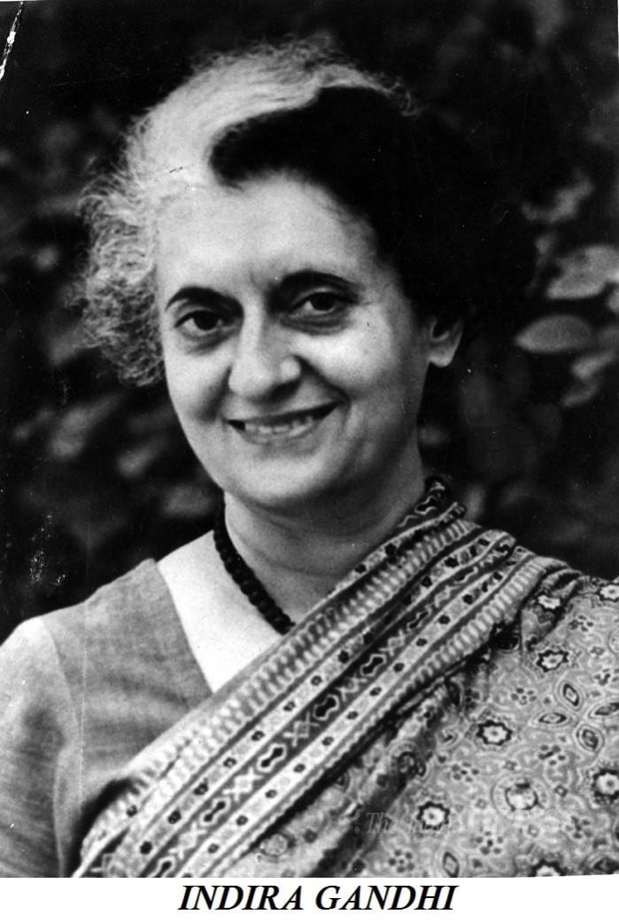 Top 10 quotes of Indira Gandhi