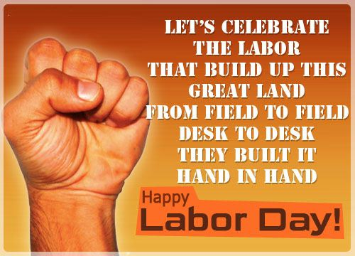 SLOGANS ON LABOUR DAY
