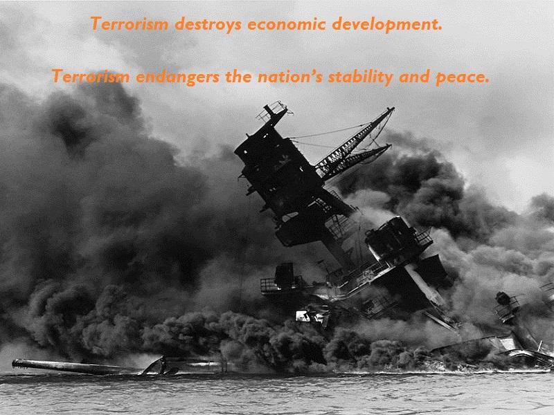 terrorism slogan 1