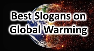Global Warming Slogans in English for Students