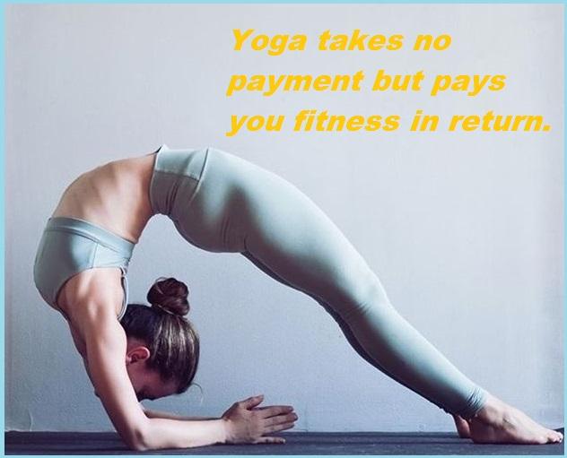 Yoga Slogans 1
