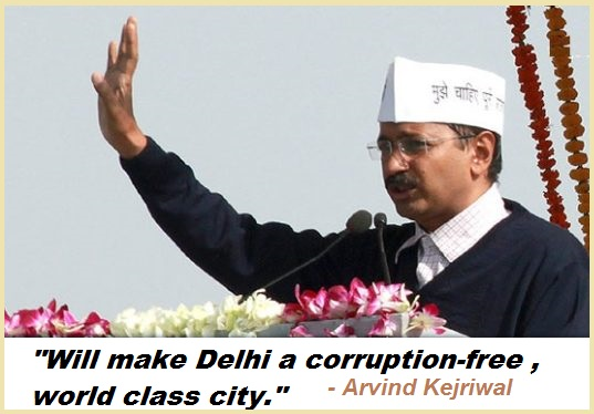 Will make Delhi a corruption-free, world-class city.