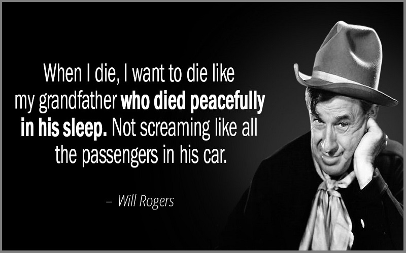 Will Rogers Quotes