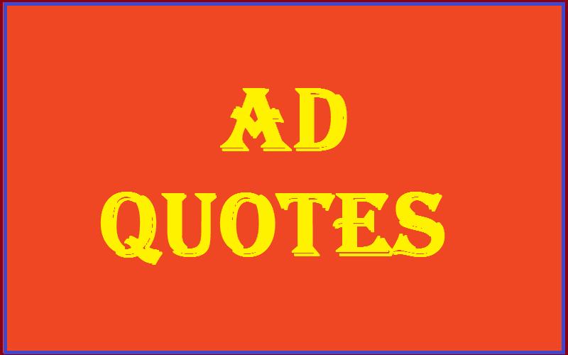 AD Quotes