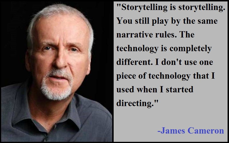 Inspirational James Cameron Quotes
