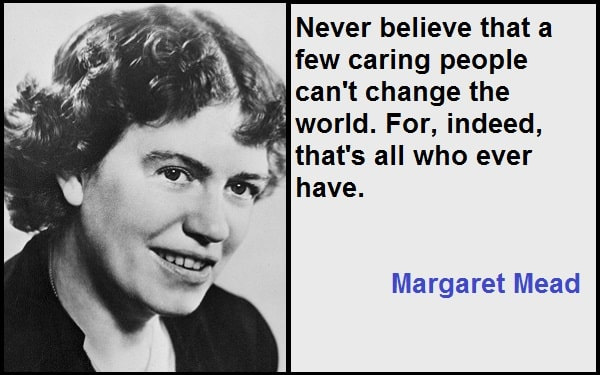 Inspirational Margaret Mead Quotes