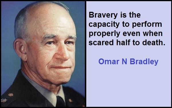 Inspirational Omar N Bradley Quotes