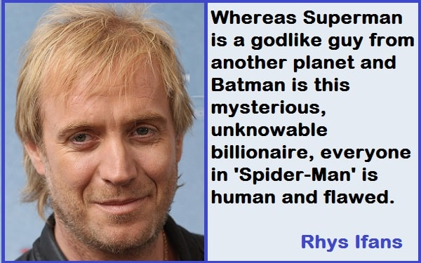 Inspirational Rhys Ifans Quotes