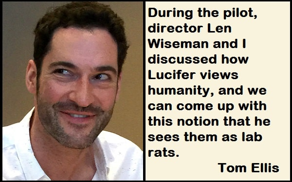 Inspirational Tom Ellis Quotes