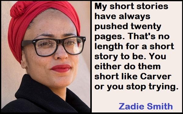 Inspirational Zadie Smith Quotes