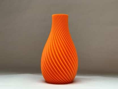 Prism Helix Series Vase