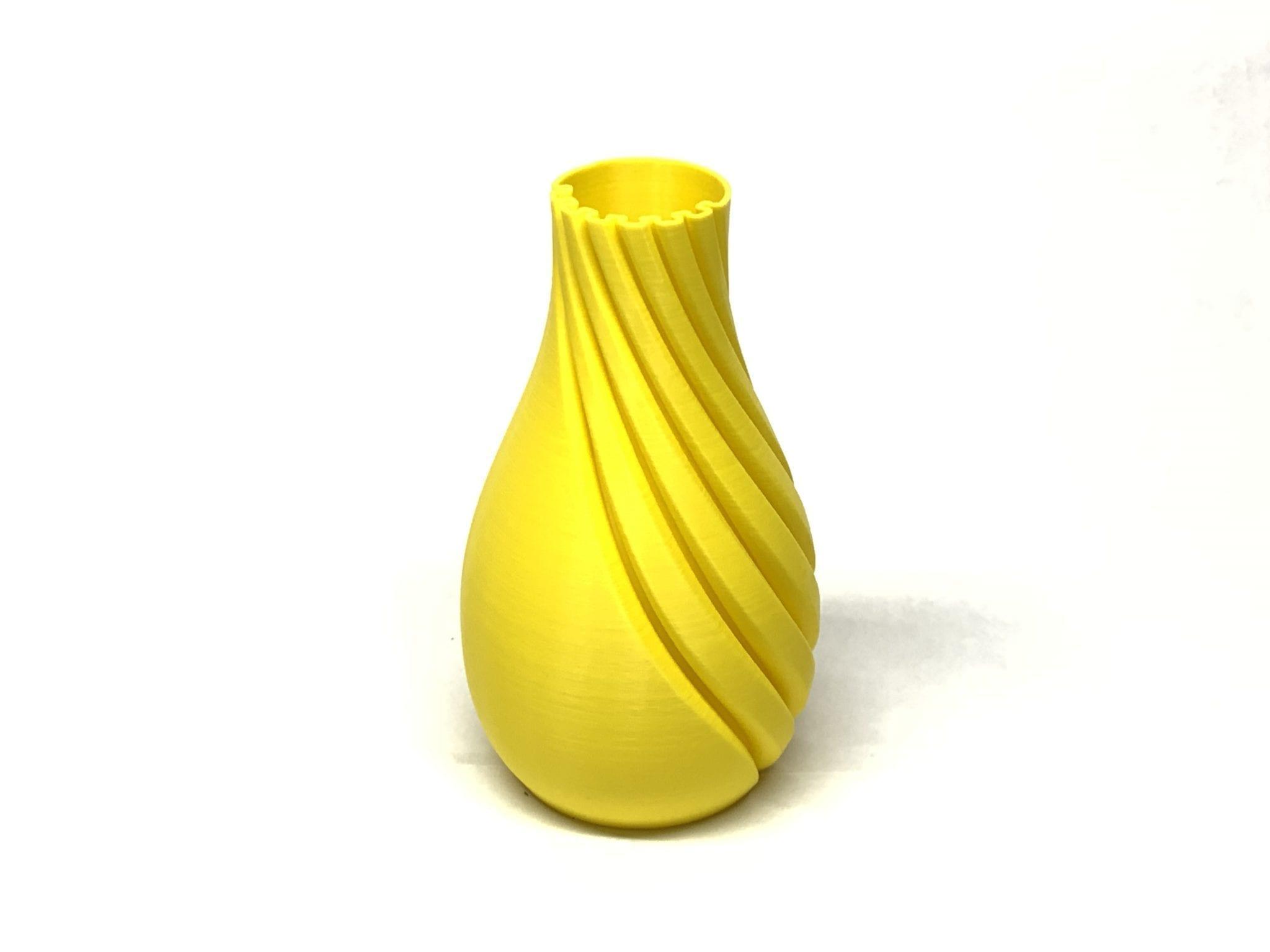 Half & Half Helix Series Vase