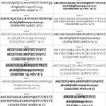 Font Variants 1-18