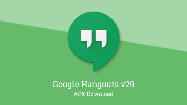 Google Hangouts v29 adopts notification channels while dropping some ringtone customization, and more [APK Download]