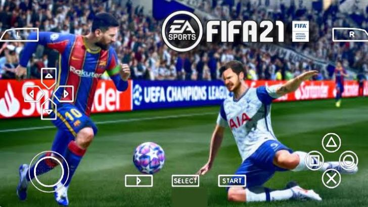 FIFA 2021 PPSSPP ISO SCREENSHOT