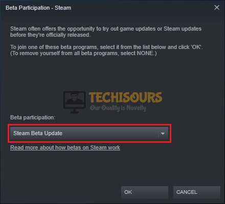 Steam Beta Update to fix the there was an error sending you trade offer. please try again later. (20) issue