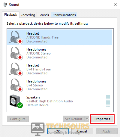 Disable audio enhancements to resolve fatal directx error ffxiv